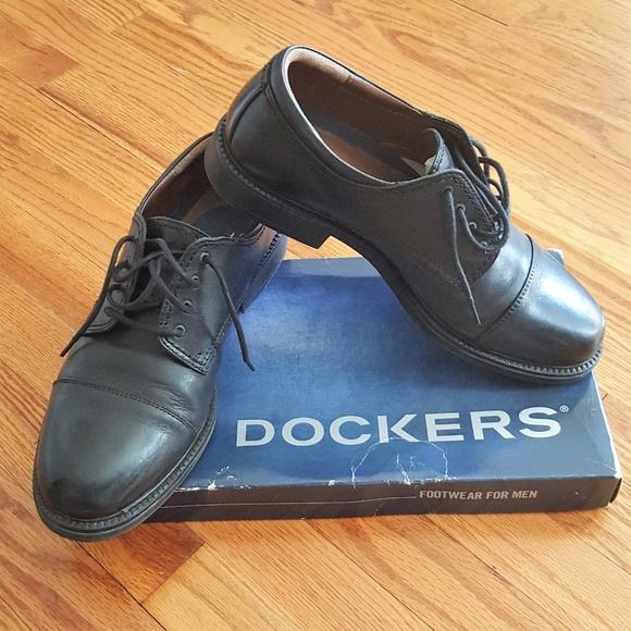 Dockers Shoes   Mens Black Dress Shoes